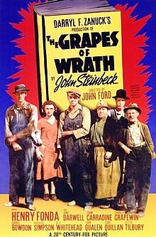 The Greatest films of all time:  25. The Grapes of Wrath (1940)(USA)
