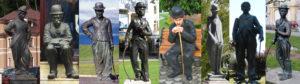 chaplin_statues-czech-republic